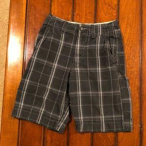 American Eagle Plaid Shorts Size: 26